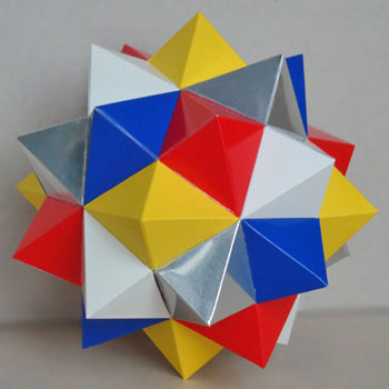 Compound five octahedra