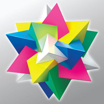 Compound five tetrahedra