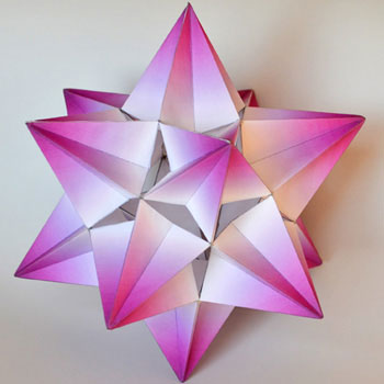 Fifth stellation icosahedron 350