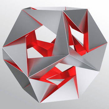 Fourteenth stellation icosahedron