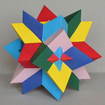 Compound six tetrahedra