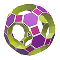 Truncated icosidodecahedron toroid