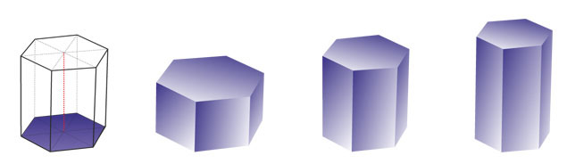 hexagonal prism 6 2