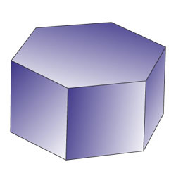 Regular hexagonal prism
