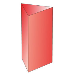 Regular triangular prism