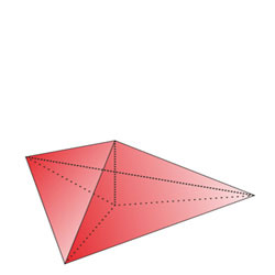 Regular triangular pyramid