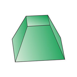 Truncated quadrangular pyramid