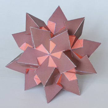 thirty fifth form stellation of icosahedron 350